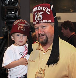Shriner with Patient